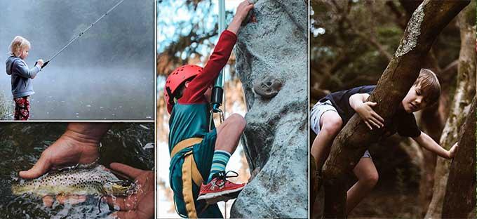 attività da fare con i bambini in montagna