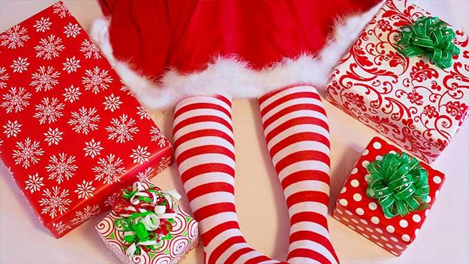 Regali di Natale e biglietti d'auguri bambini