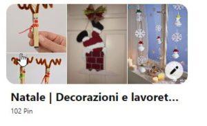 decorazioni e lavoretti di Natale