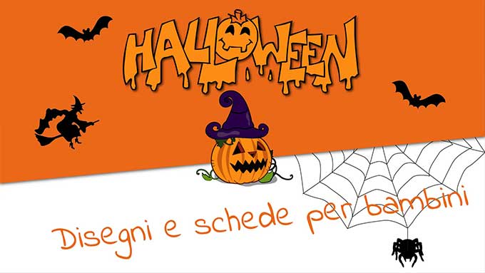 Disegni di Halloween bambini