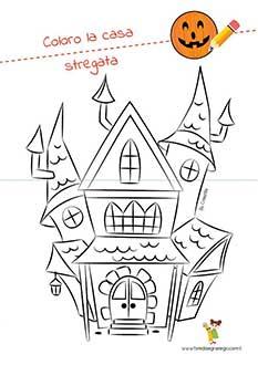 Disegni Di Halloween Da Colorare Per Bambini Fare Disegnare Giocare