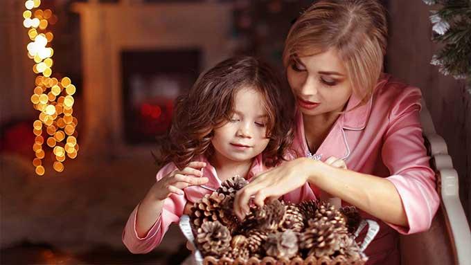 Lavoretti di Natale fai da te con i bambini