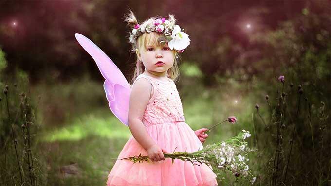 costume di carnevale bambina fatina