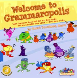 libro per bambini in inglese gratis welcome to Grammaropolis
