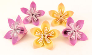 origami fiori di kusudama