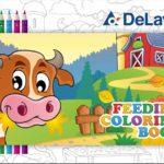 Album da colorare bambini disegni fattoria pdf